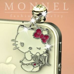 ip243-Luxury-Hello-Kitty-Angel-Anti-Dust-Plug-Cover-Charm-For-iPhone-4-4S