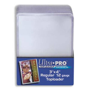 ULTRA PRO .... 35 POINT .... TOP LOADERS .... bundle of 25