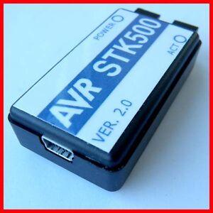 STK500-AVR-ISP-USB-Programmer-Spport-WIN7-AVR-STUDIO-5-ATMEL-ATMEGA-AVRISP