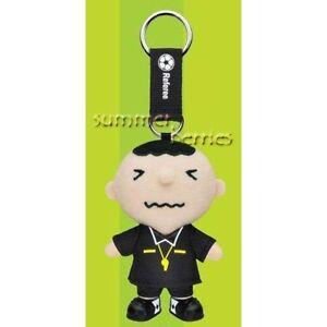 Sanrio minna no tabo 2010 World Cup Plush Key Chain - Referee