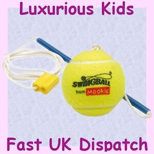 Mookie Swingball Replacement Spare Quality Tennis Ball and Adjustable Tether