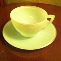 Jadeite Tea~cup & saucer