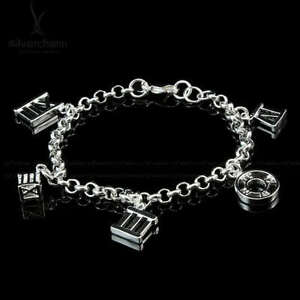 bracelet 16cm femme ado fille pour petit poignet argent. Black Bedroom Furniture Sets. Home Design Ideas