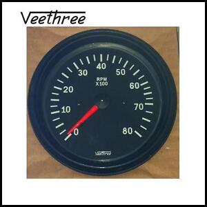 Tachometer-85mm-8000RPM-SUPPLY-WORD-WIDE-FREE-POSTAGE-FOR-AUSTRALIA