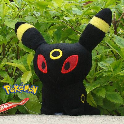 "Pokemon Plush Toy Umbreon 5"" Nintendo Game Cuddly Soft Stuffed Animal Doll"