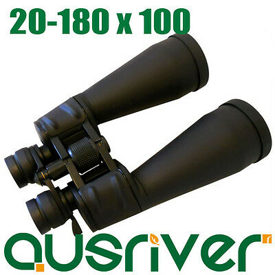 Ausriver sale: Brand New Professional Adjustable 20-180x100 Zoom Binoculars