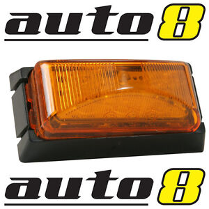 LED AMBER CLEARANCE / SIDE LIGHT. FLASHER  INDICATOR MULTI-VOLT 5 YEAR WARRANTY