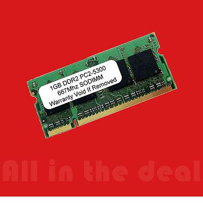 1gb Ddr2 Sodimm Pc5300 Pc2-5300 667 Laptop Memory Ram