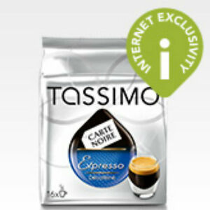 tassimo decaffeinated coffee beans grounds pods ebay. Black Bedroom Furniture Sets. Home Design Ideas