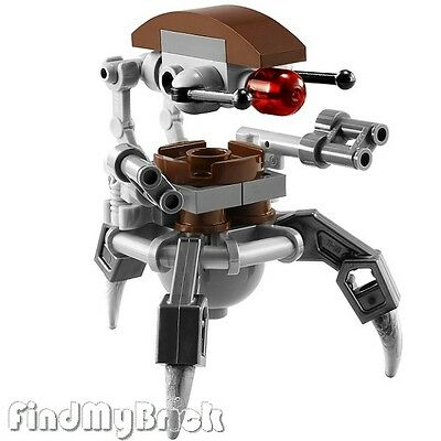 Sw657 Lego Star Wars Droideka Destroyer Droid Minifigure Clone Wars 75000