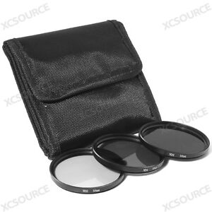 58mm Neutral Density ND2 ND4 ND8 Filter Set for Canon 5D Mark 7D 60D 600D LF62