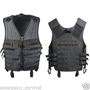 Customizable-Advanced-MOLLE-Compatible-Tactical-Vest-BLACK