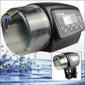 Digital Automatic Aquarium Fish Food Feeder Dispenser