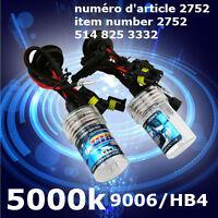9006/HB4 5000K  2 x 35W HID Headlight Light Xenon Bulbs