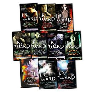Black Dagger Brotherhood Series Collection J R Ward 10 Book Set - Lover Reborn