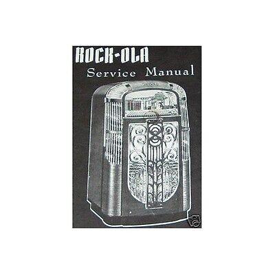 ROCKOLA Jukebox SERVICE MANUAL Model 1422 + 1426