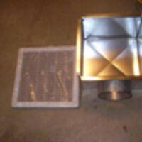 grille de ventilation 12 x 12 pouces neuf