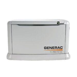 Génératrice Série EcoGen 6 kW de GENERAC