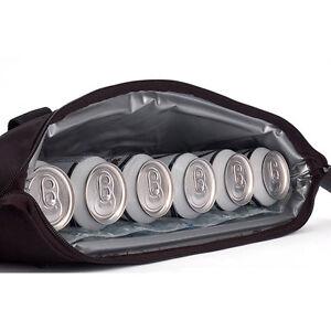 Par 6 Golf Bag Can Cooler - Holds 6 Beers inside Shoe Pocket! Gel Pack Insulated