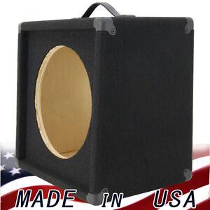 1x12 single 12 empty guitar speaker cabinet black carpet slanted front g112slbc. Black Bedroom Furniture Sets. Home Design Ideas
