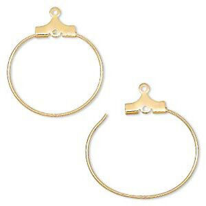 Wholesale earring hoops for beading loom