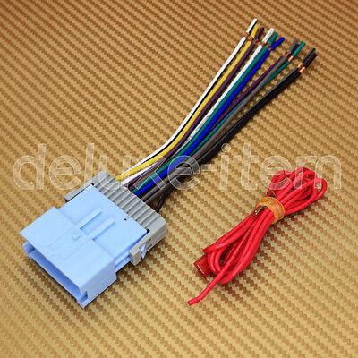 Chevy Pontiac Car Car Stereo Radio Wiring Harness Wire Adapter Plug Gwh-404