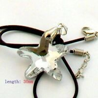 White transparent Five-pointed Starfish Pendant -NEW!