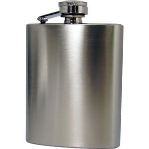New Top Quality 4OZ Stainless Steel Pocket Hip Flask Liquor Hipflask Gift Set