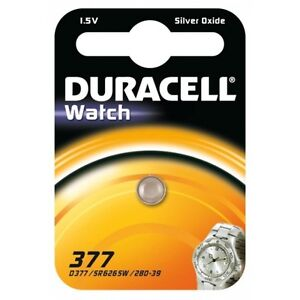 1-pile-377-Duracell-pile-SR626sw-Oxyde-dargent-SR66