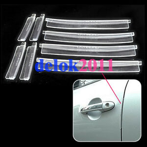 8-PCS-Cars-door-edge-guards-Trim-Molding-PROTECTOR-SET