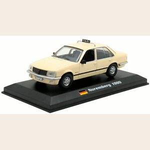 Opel Rekord E - Nuremberg Taxi, Germany 1980 1:43 License Altaya