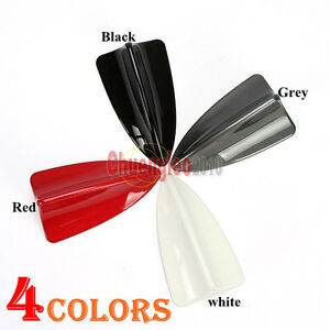4Colors Decoration LED Light Car Shark Fin BMW Dummy Antenna Universal Fitment