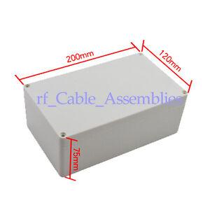 2x-Plastic-Project-Box-Enclosure-7-87-4-72-2-95-L-W-H