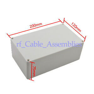 NEW-waterproof-Plastic-Project-Box-Enclosure-7-87-4-72-2-95-L-W-H-1501