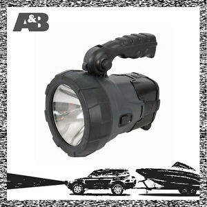 Solar-12V-240V-Weatherproof-LED-Spotlight-Torch-Rechargeable-Flashlight-Light