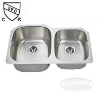 Undermount Stainless Steel Sink - 60/40 Split - BRAND NEW !!