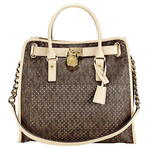 Michael-Kors-Hamilton-Signature-Perforated-North-South-Tote-in-Brown-30H2GHMT3K