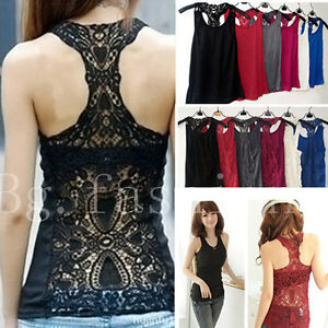 Womens-Sexy-Back-Crochet-Lace-Tank-Top-Sleeveless-T-shirt-Hollow-out-Cami-Vest