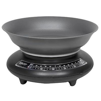 Ekco 123® 5-lb Black /gray Kitchen Food Scale 7 Weighs Lbs, Oz, Kg, Gm