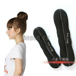 NEW-MAGIC-SPONGE-HAIR-STYLING-BUN-MAKER-TWIST-CURLER-TOOL-L-S
