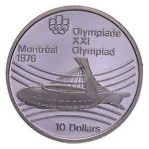 MONNAIE, olympique 1976 en argent sterling .925 diamants Longueuil / South Shore Greater Montréal image 2