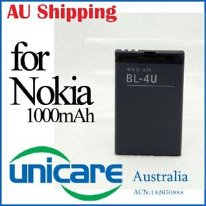 Li-ion  BL-4U BL 4U Battery for Nokia Asha E75 E66 300 3120C 5530 5330 5730 6212