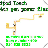 Power On Off Volume Button Flex Cable Part for Apple ipod 4