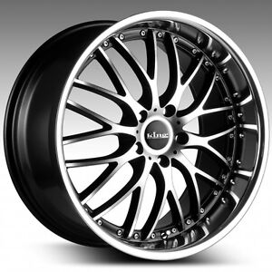 20-X-8-5-KING-MALICE-STAGGERED-WHEELS-TYRES-HOLDEN-COMMODORE-FORD-FALCON