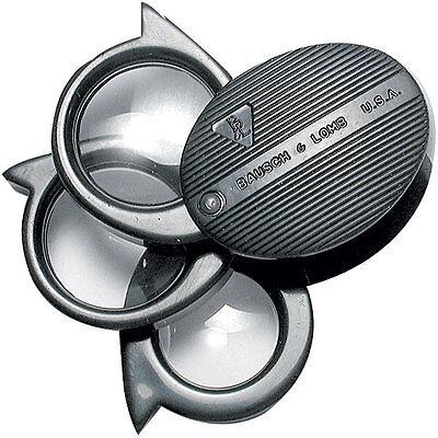 Bausch & Lomb Folding Pocket Magnifier 81-23-67 5x-20x