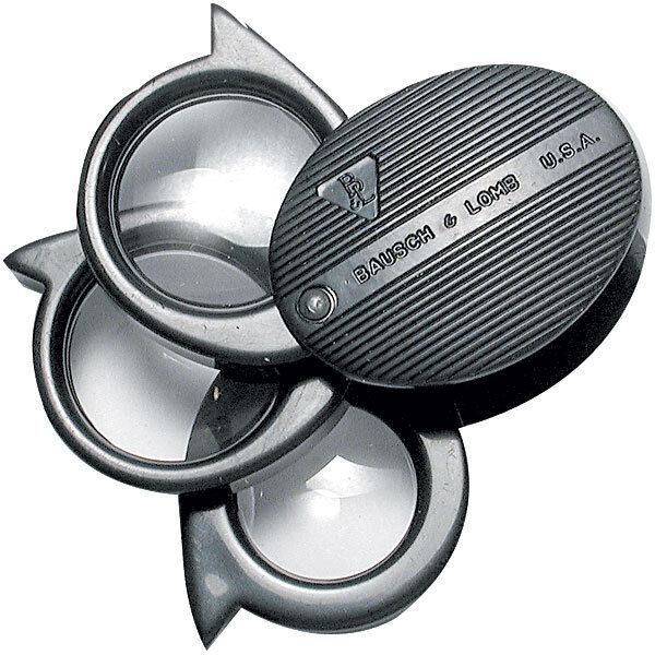 Bausch & Lomb Folding Pocket Magnifier