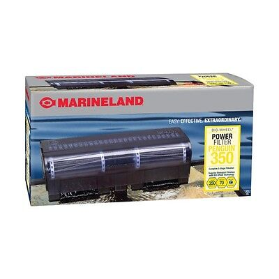 MARINELAND PENGUIN 350B BIO-WHEEL AQUARIUM POWER FILTER  Up To 70 Gallon Tanks