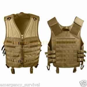 Customizable-Advanced-MOLLE-Compatible-Tactical-Vest-COYOTE-TAN