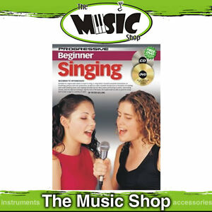 Progressive-Beginner-Singing-Music-Book-CD-DVD-Package-Vocal-Lesson-Book