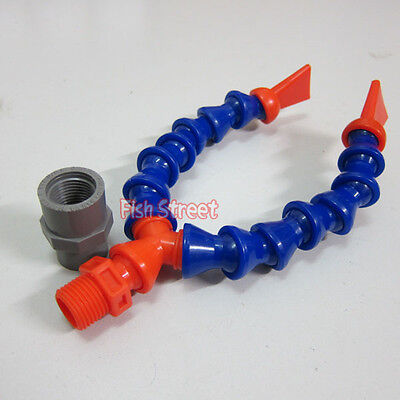 """Y Fitting Nozzle Adjustable Loc Line 1/2"""" Inch with Hose"""